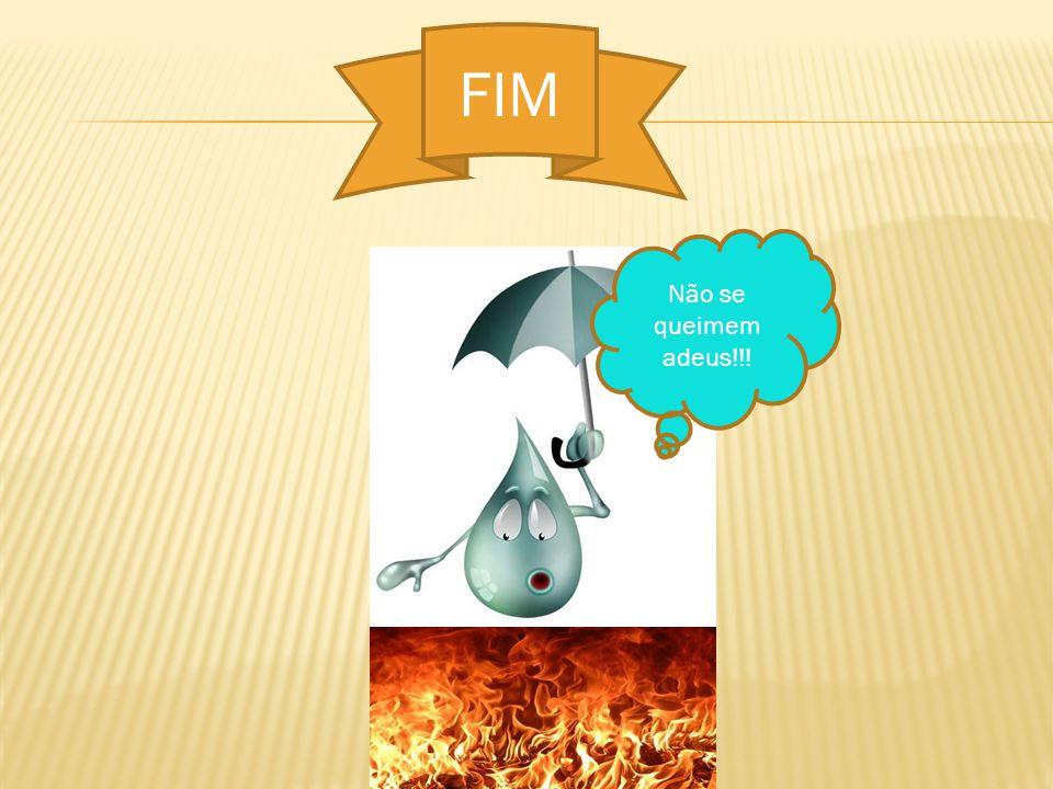 FIM Não se queimem adeus!!!
