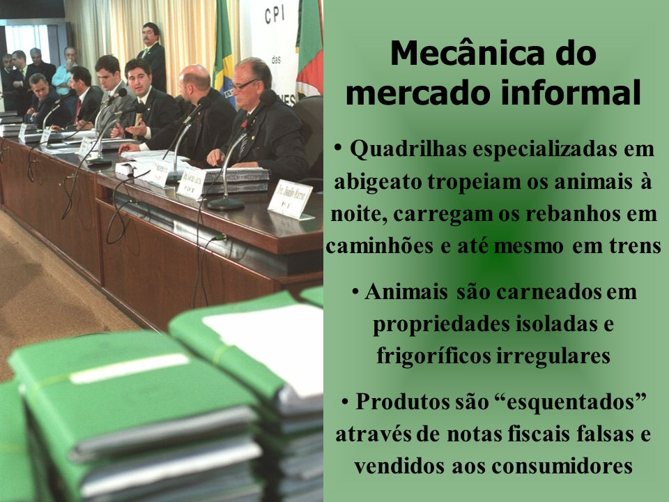 Mecânica do mercado informal