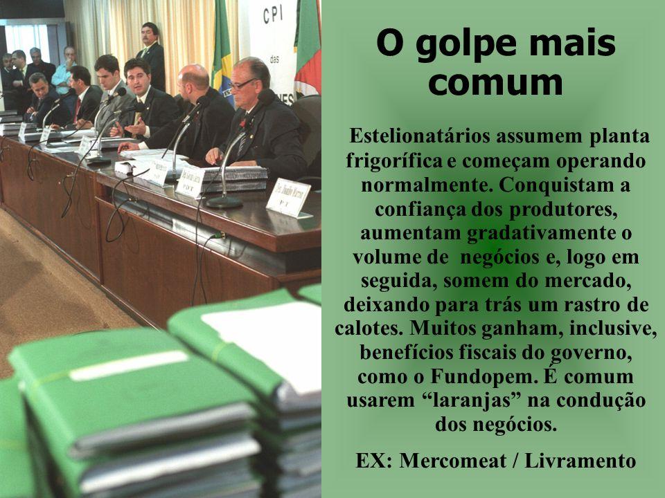 EX: Mercomeat / Livramento