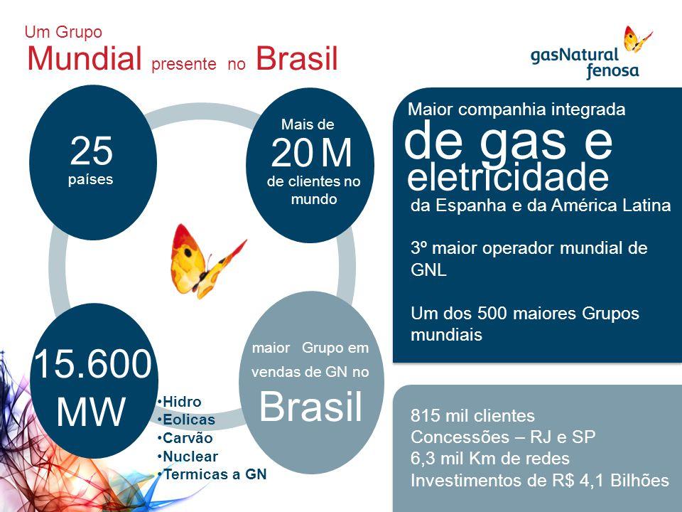 maior Grupo em vendas de GN no Brasil