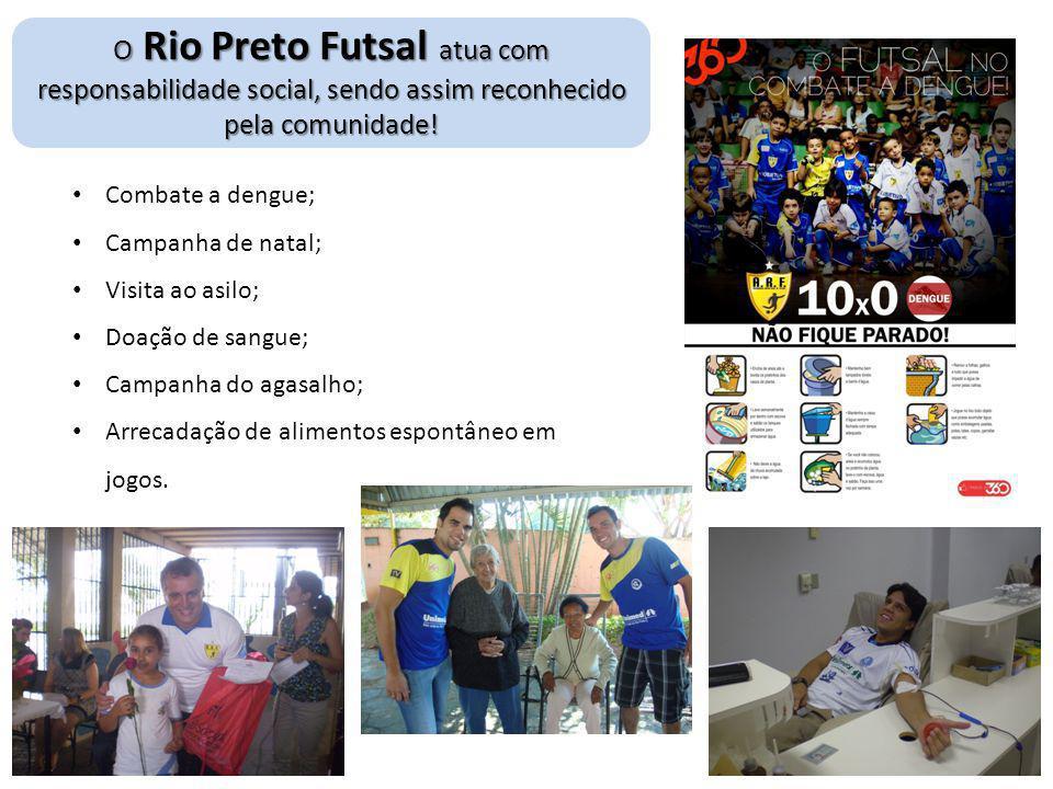 O Rio Preto Futsal atua com responsabilidade social, sendo assim reconhecido pela comunidade!