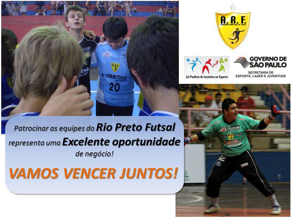 Patrocinar as equipes do Rio Preto Futsal representa uma Excelente oportunidade de negócio!