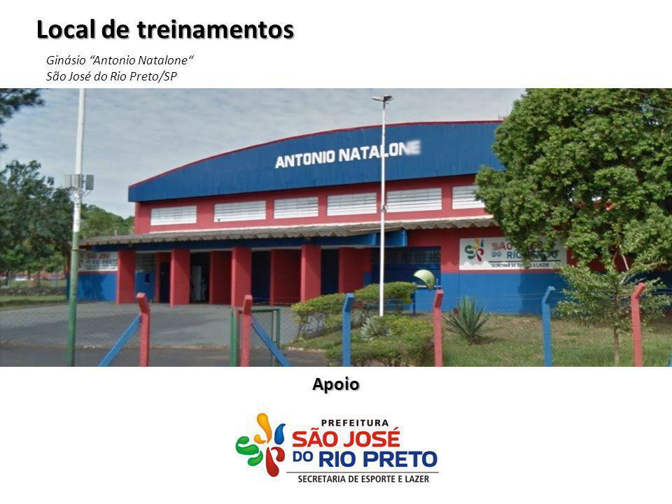 Local de treinamentos Apoio Ginásio Antonio Natalone