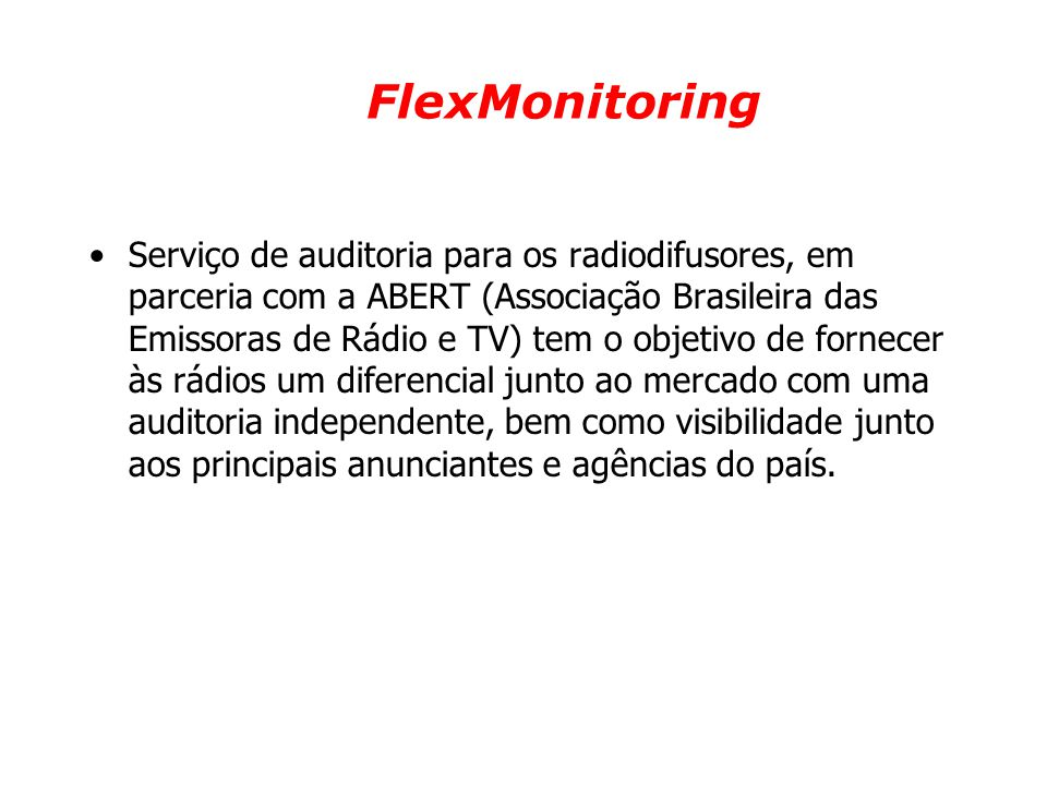 FlexMonitoring