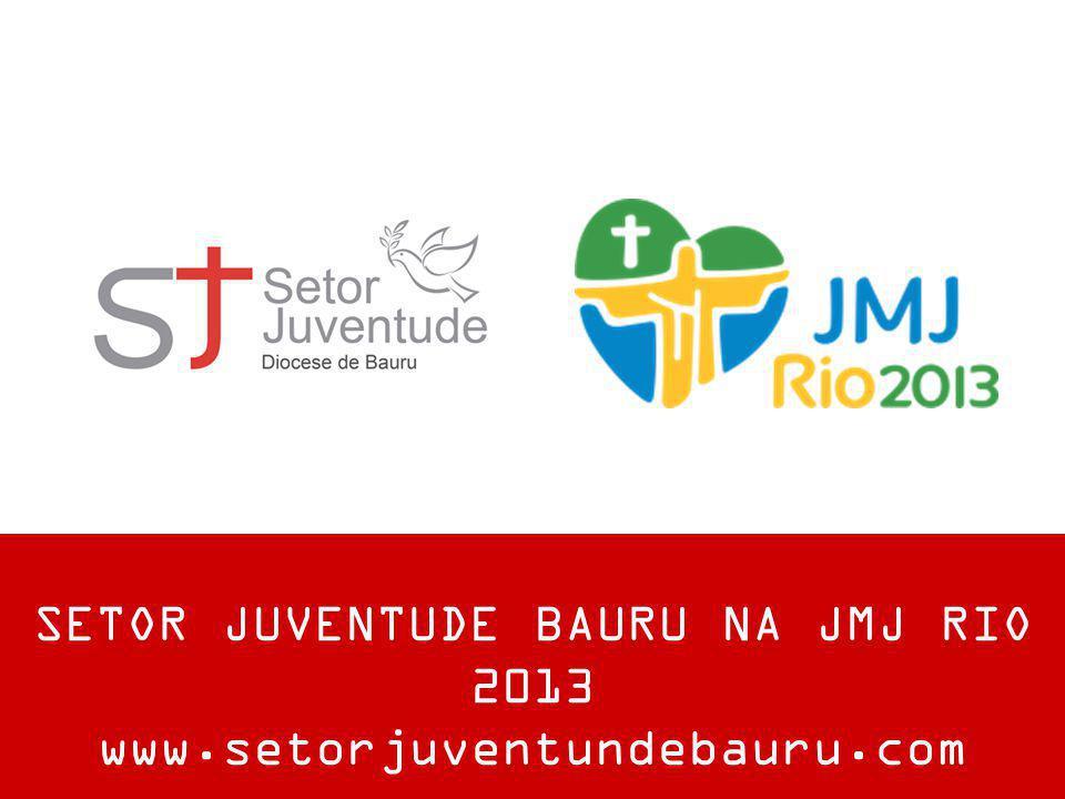 SETOR JUVENTUDE BAURU NA JMJ RIO 2013