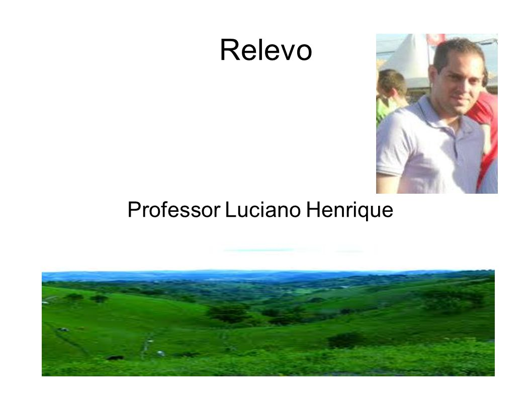 Professor Luciano Henrique