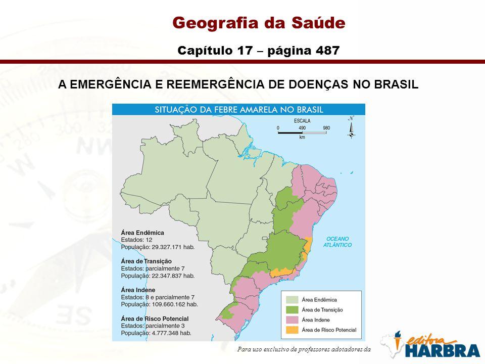 A EMERGÊNCIA E REEMERGÊNCIA DE DOENÇAS NO BRASIL