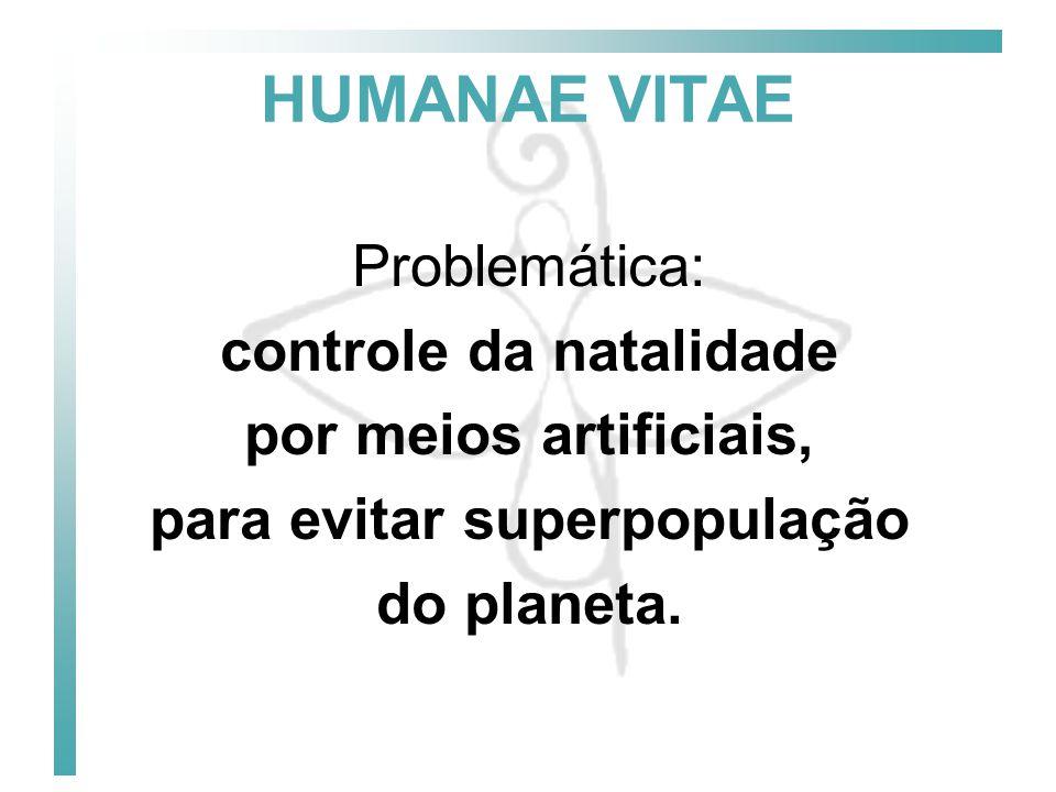 controle da natalidade para evitar superpopulação
