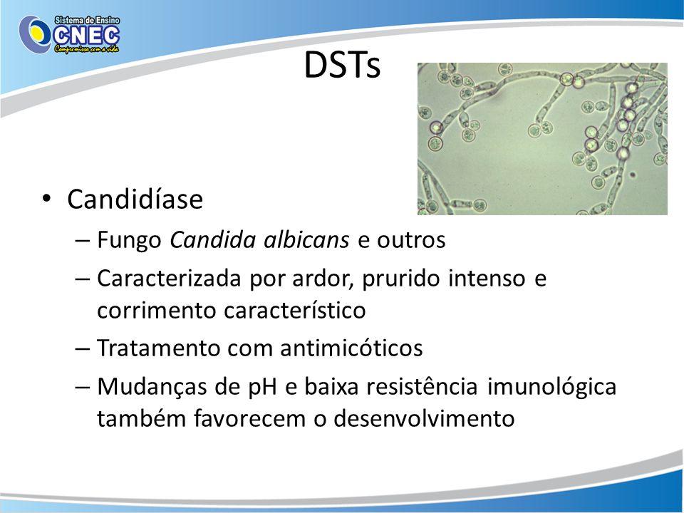 DSTs Candidíase Fungo Candida albicans e outros