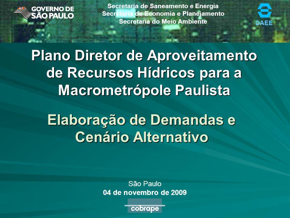 Elaboração de Demandas e Cenário Alternativo