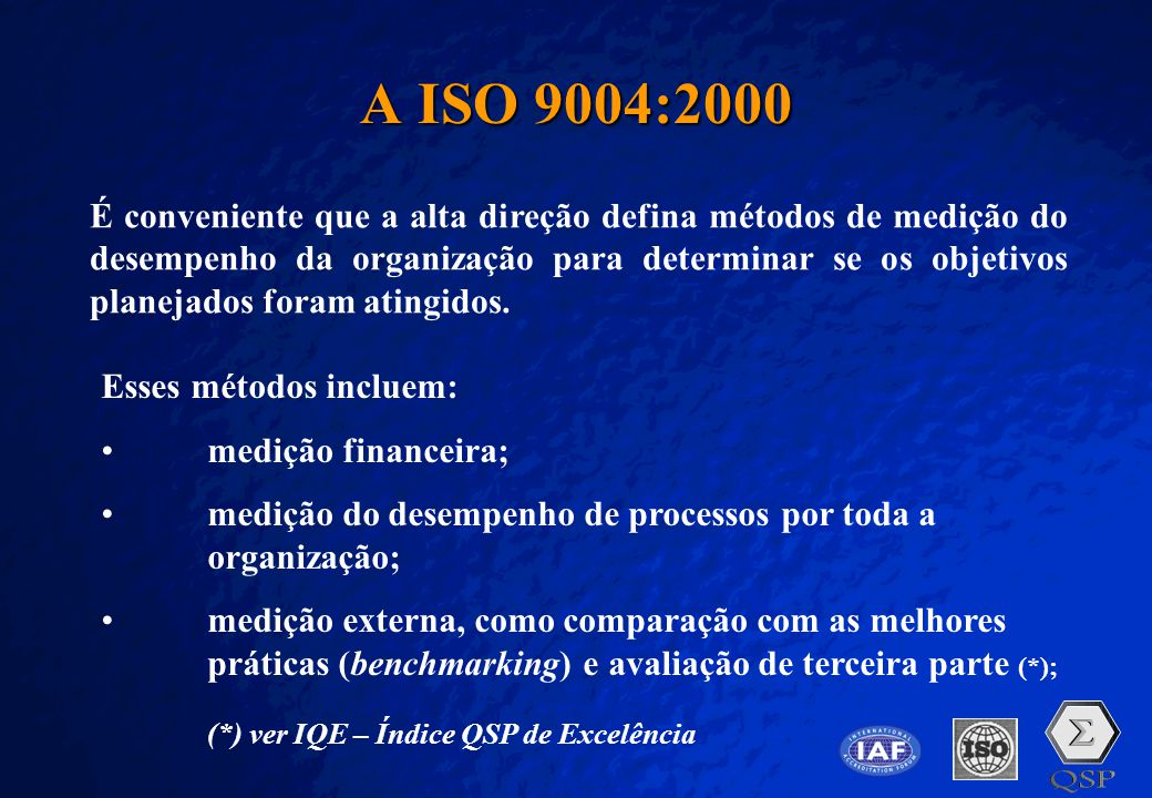 A ISO 9004:2000