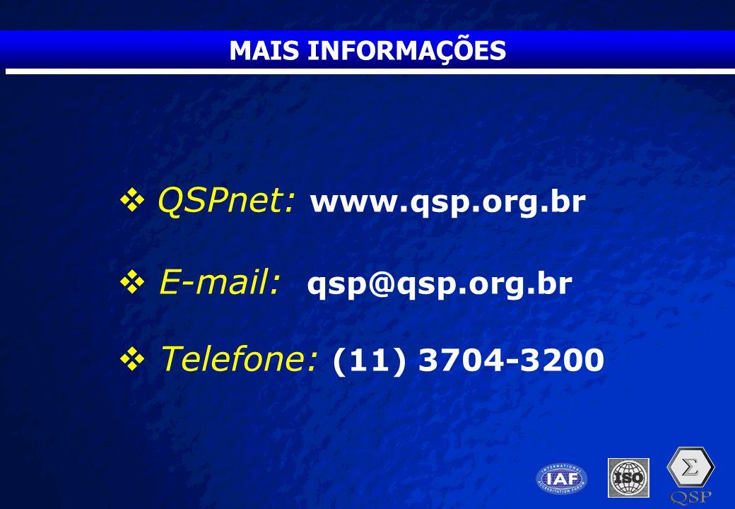 QSPnet: www.qsp.org.br E-mail: qsp@qsp.org.br Telefone: (11) 3704-3200