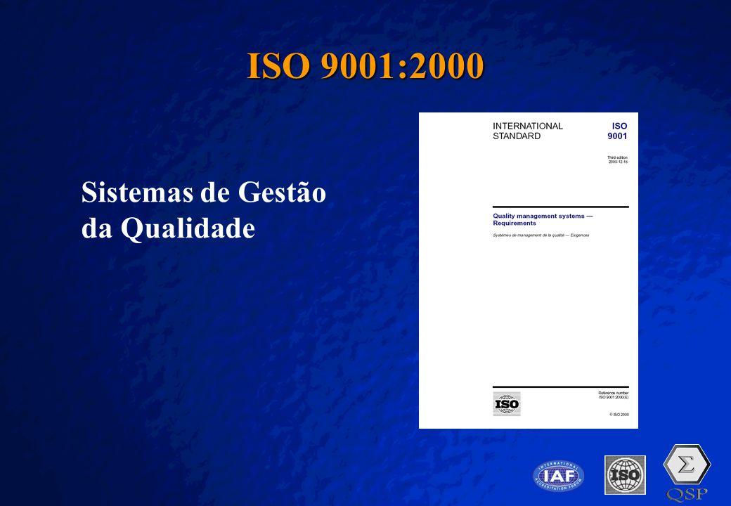 ISO 9001:2000 Sistemas de Gestão da Qualidade