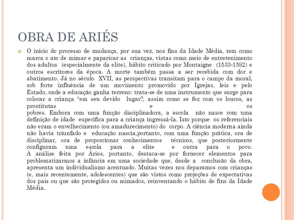OBRA DE ARIÉS