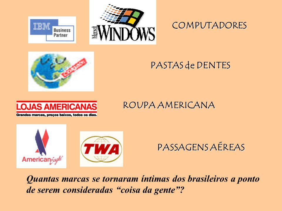 COMPUTADORES PASTAS de DENTES. ROUPA AMERICANA. PASSAGENS AÉREAS.