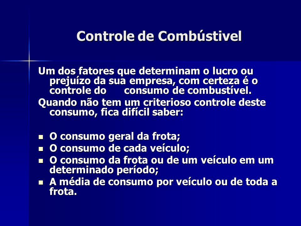 Controle de Combústivel