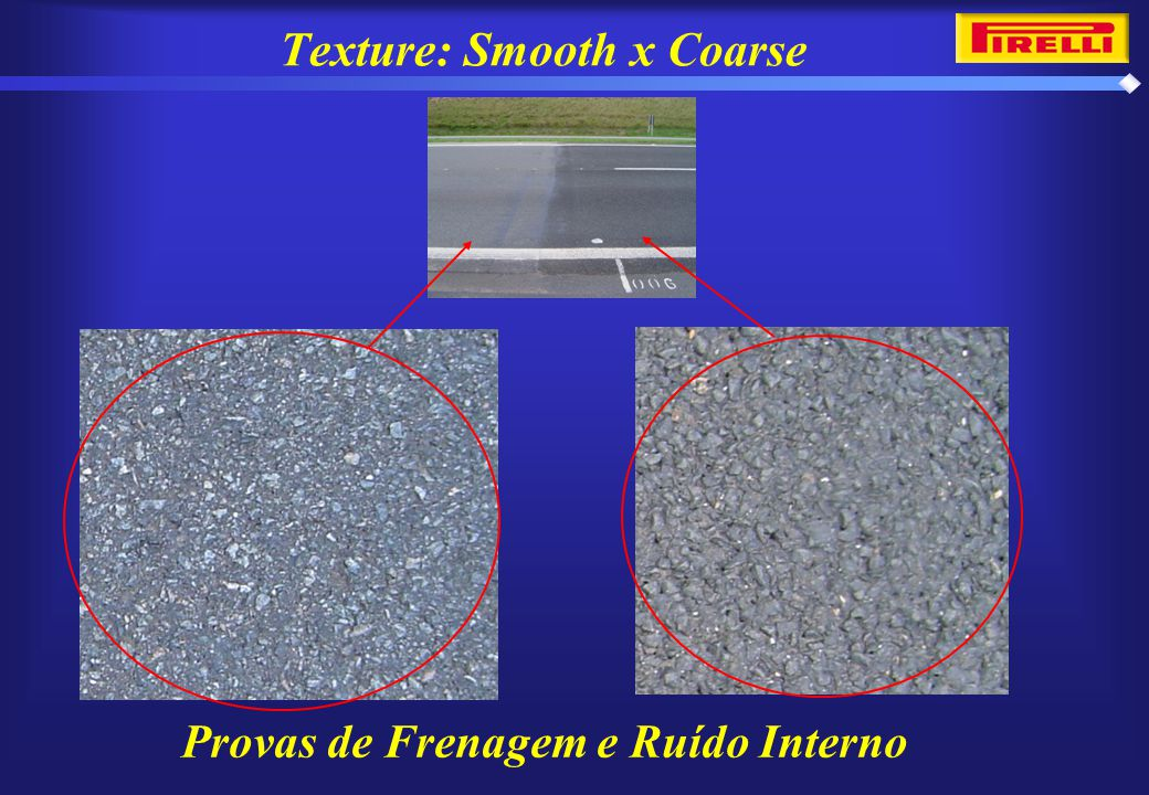 Texture: Smooth x Coarse
