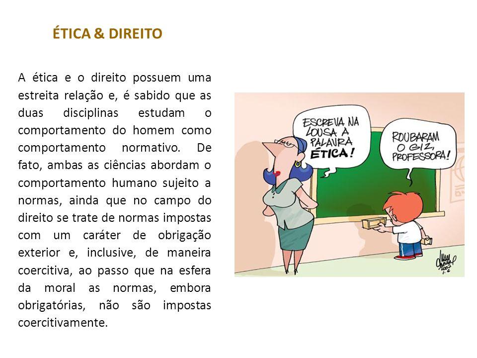 ÉTICA & DIREITO