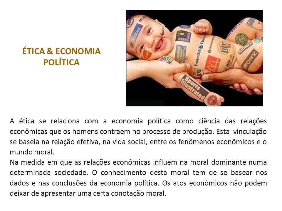 ÉTICA & ECONOMIA POLÍTICA