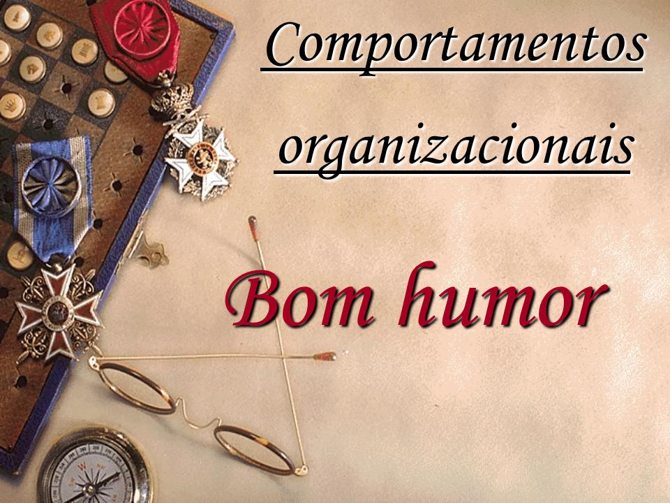 Comportamentos organizacionais