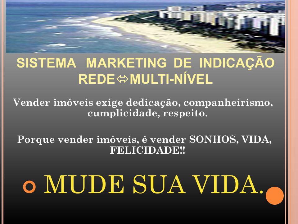Porque vender imóveis, é vender SONHOS, VIDA, FELICIDADE!!