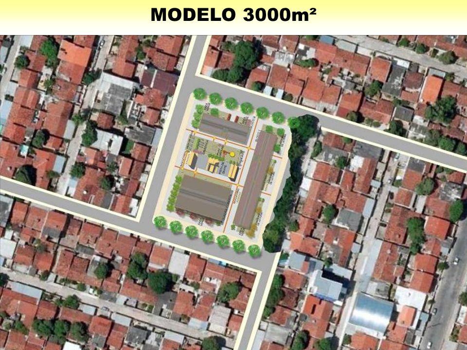 MODELO 3000m²