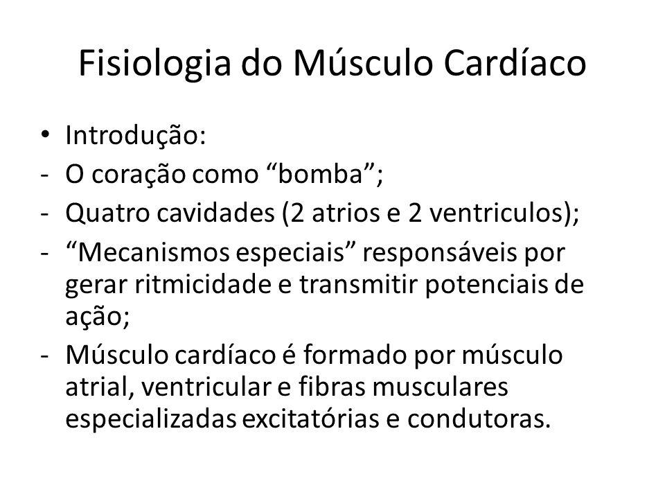 Fisiologia do Músculo Cardíaco
