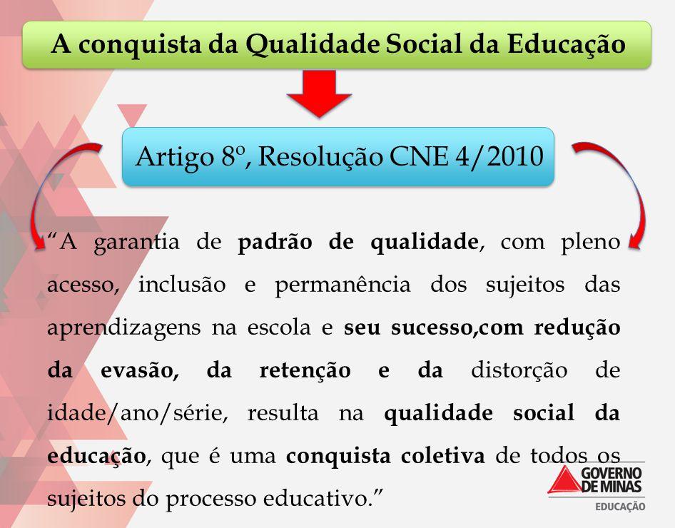 A conquista da Qualidade Social da Educação