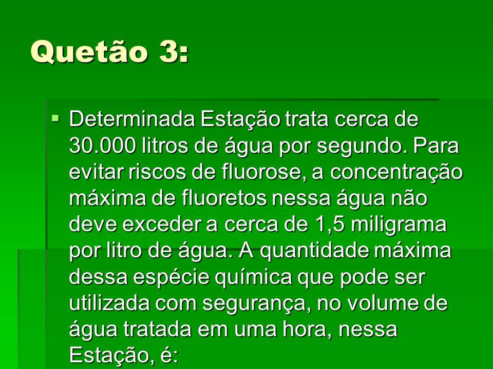 Quetão 3: