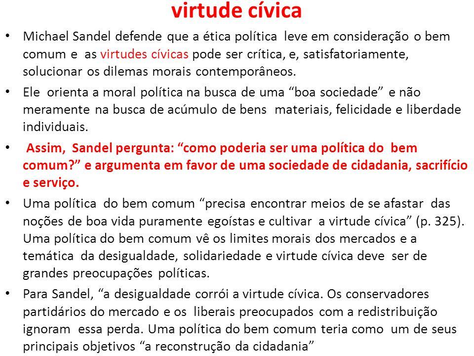 virtude cívica
