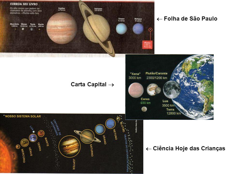  Folha de São Paulo Carta Capital   Ciência Hoje das Crianças