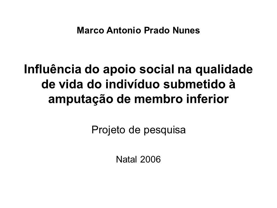 Projeto de pesquisa Natal 2006