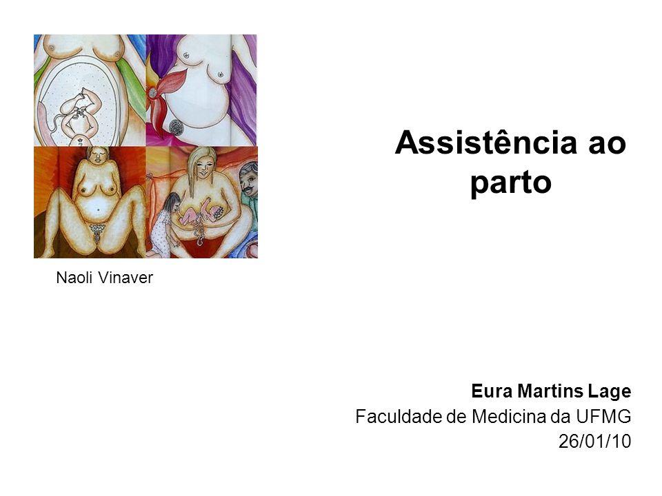 Assistência ao parto Eura Martins Lage Faculdade de Medicina da UFMG