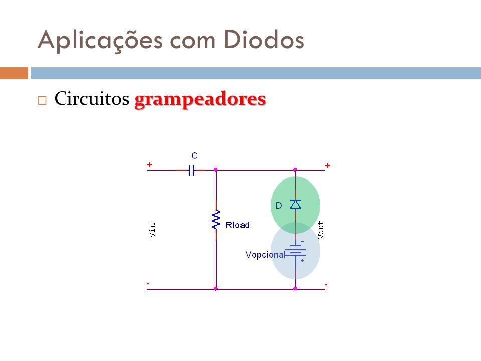Aplicações com Diodos Circuitos grampeadores