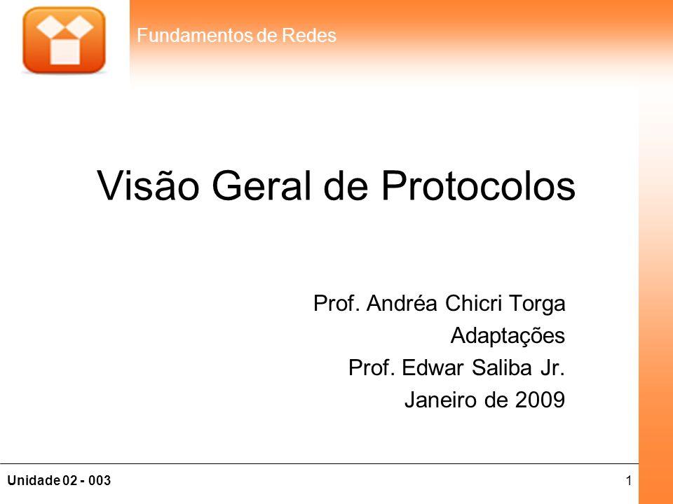 Visão Geral de Protocolos