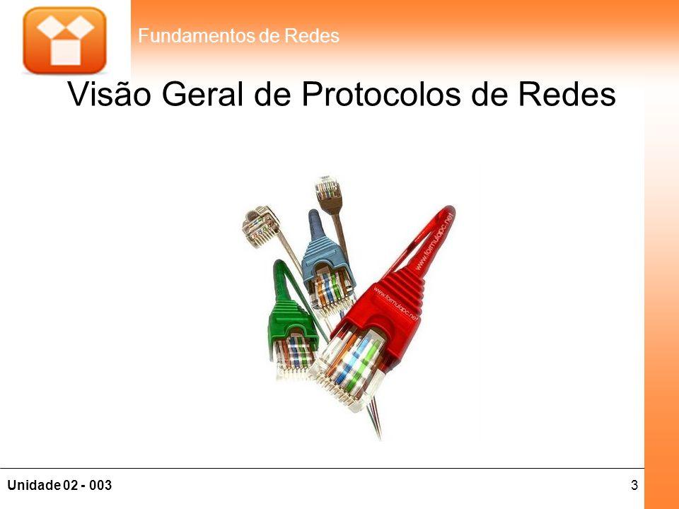 Visão Geral de Protocolos de Redes