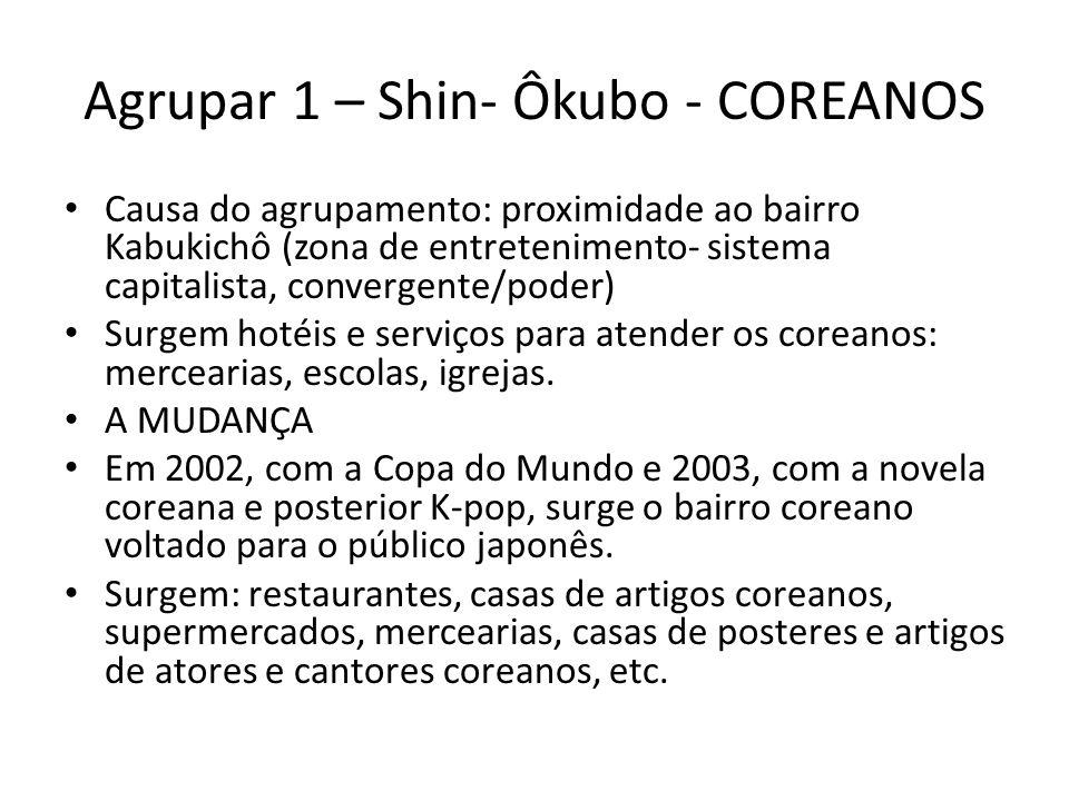 Agrupar 1 – Shin- Ôkubo - COREANOS