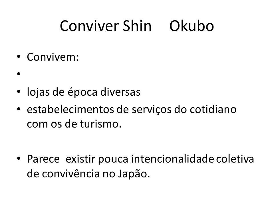 Conviver Shin Okubo Convivem: lojas de época diversas