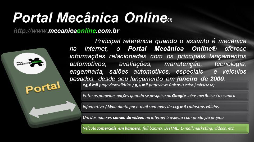 Portal Mecânica Online®