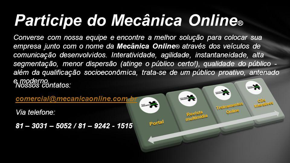 Participe do Mecânica Online®