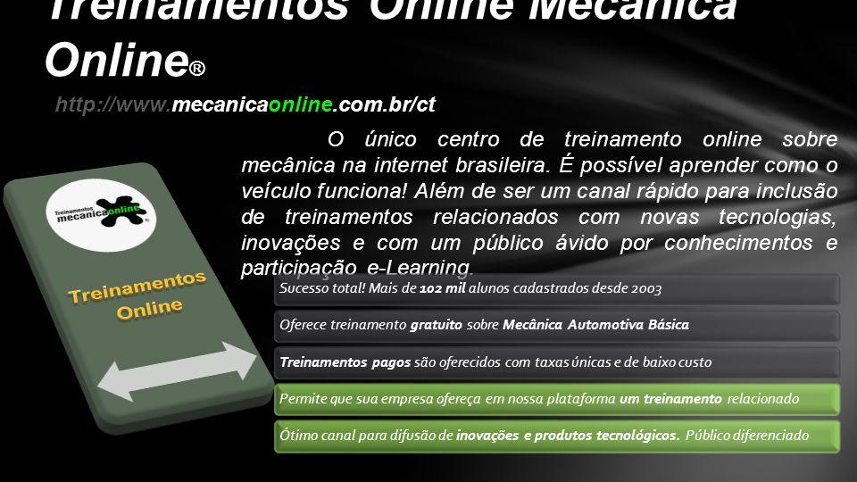 Treinamentos Online Mecânica Online®