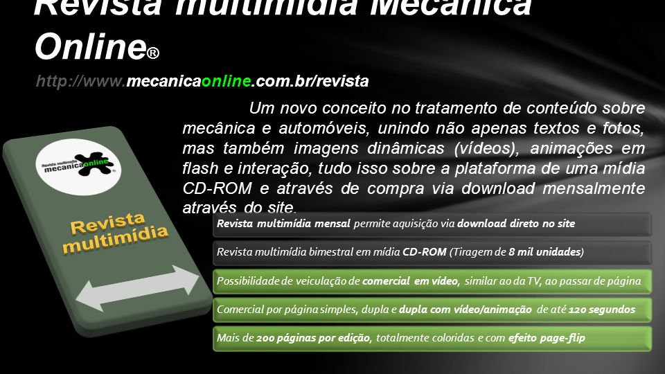 Revista multimídia Mecânica Online®