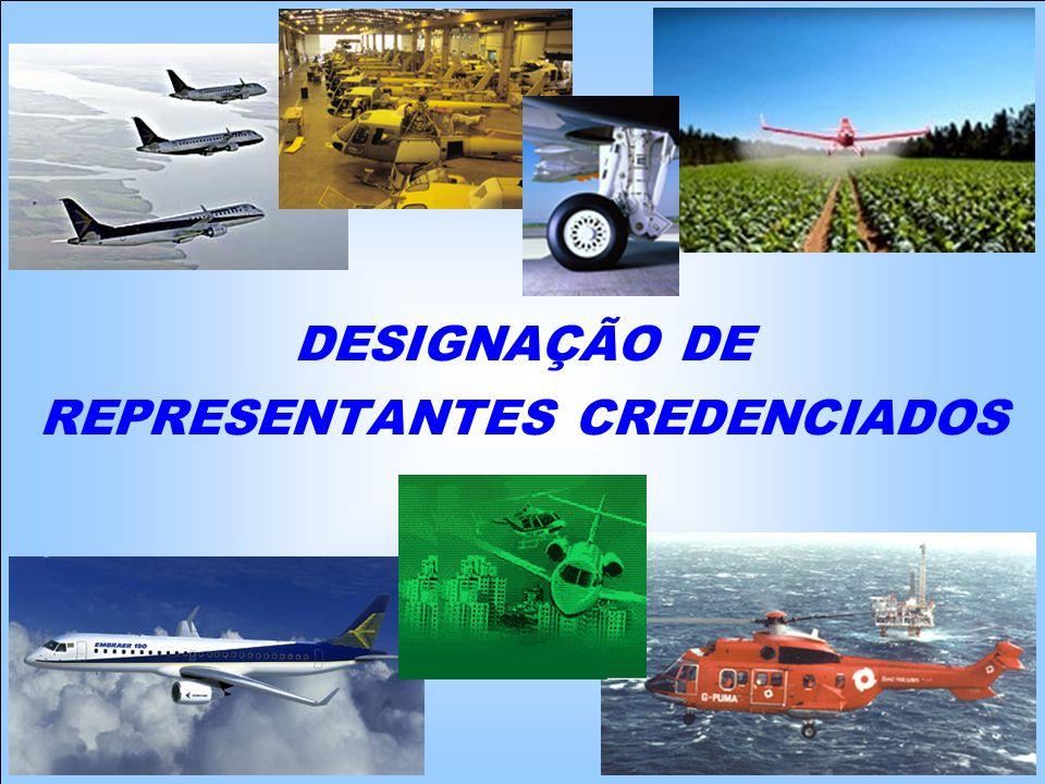 DESIGNAÇÃO DE REPRESENTANTES CREDENCIADOS