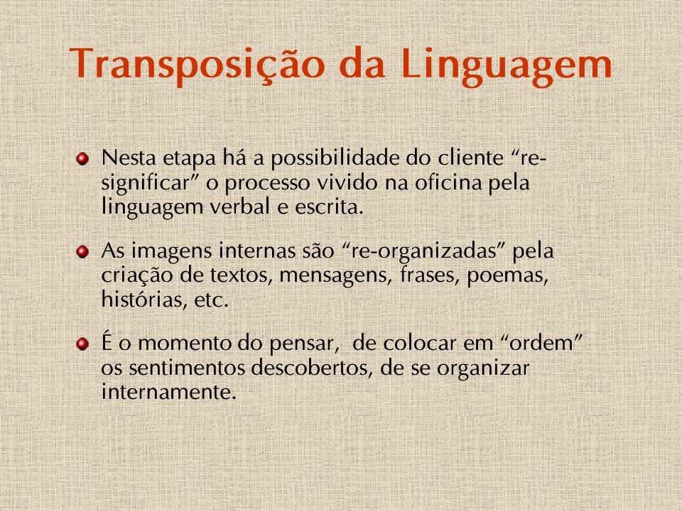 Transposição da Linguagem