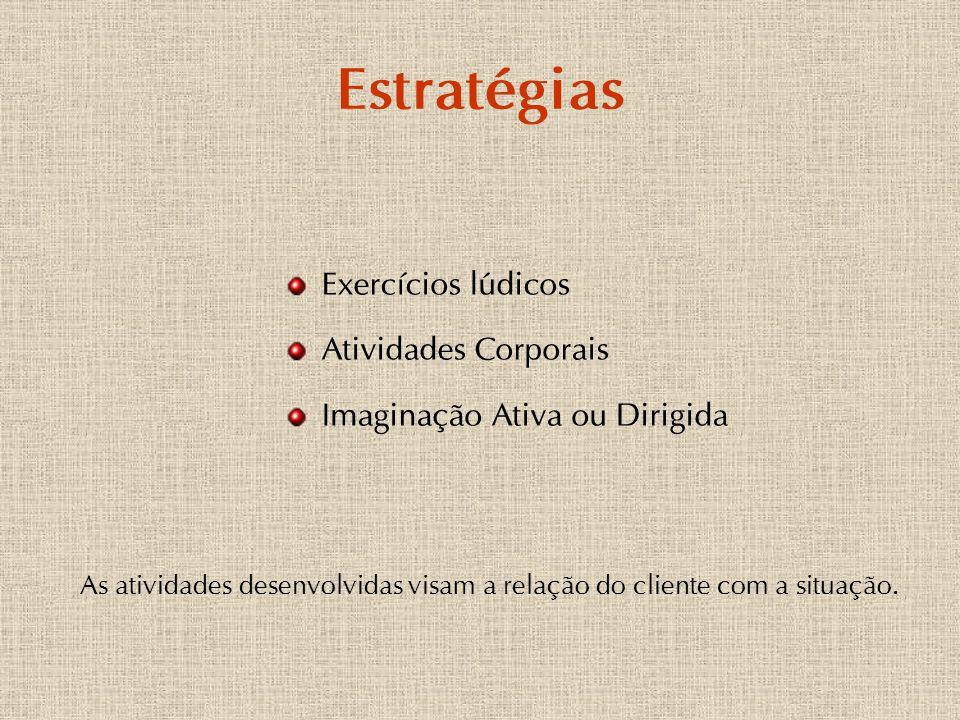 Estratégias Exercícios lúdicos Atividades Corporais