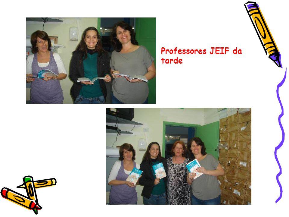Professores JEIF da tarde