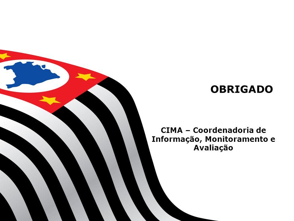 CIMA – Coordenadoria de Informação, Monitoramento e Avaliação