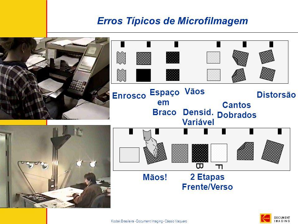Erros Típicos de Microfilmagem