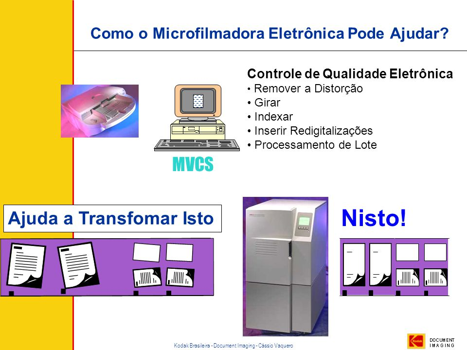 Como o Microfilmadora Eletrônica Pode Ajudar