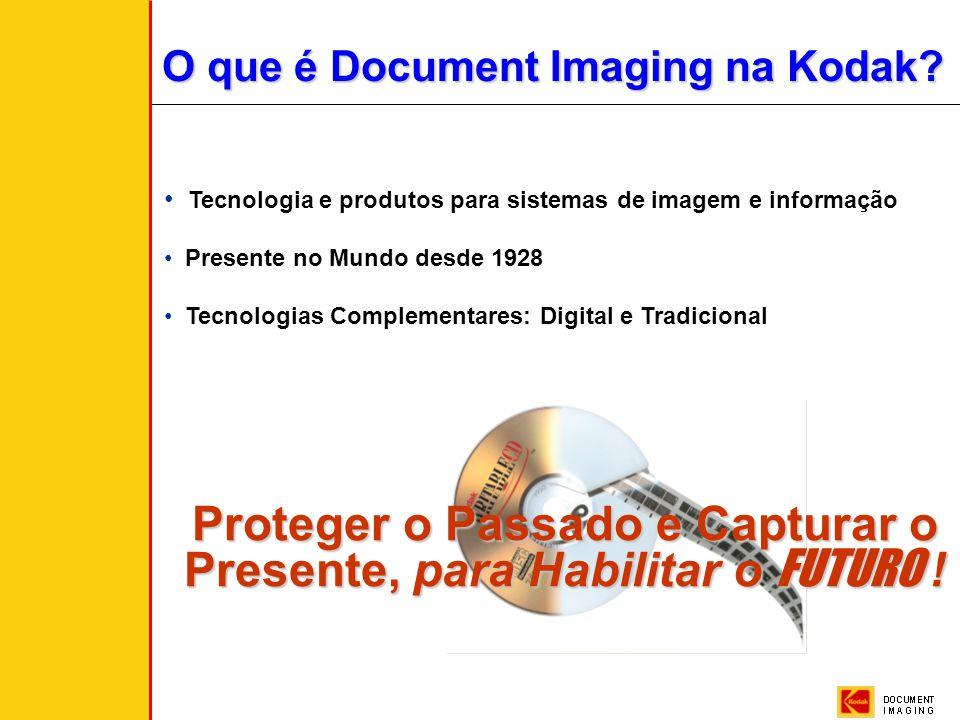 O que é Document Imaging na Kodak